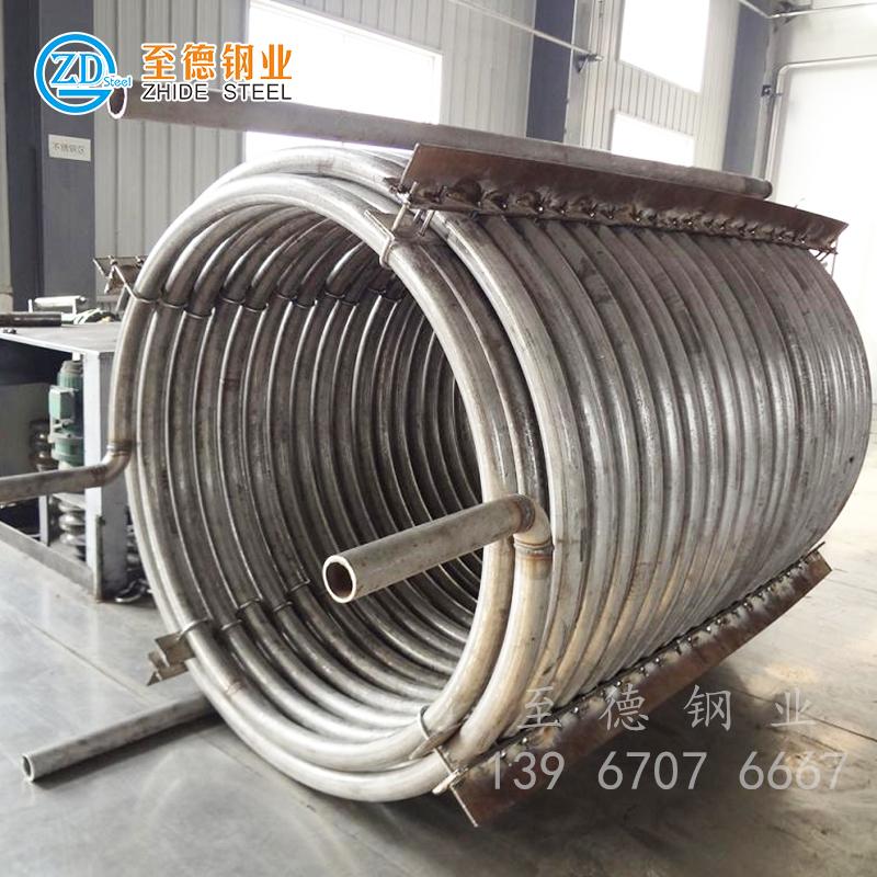 304不锈钢盘管